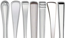 Flatware Patterns Stainless | Interior Decorating