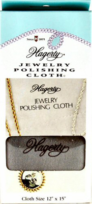 Tarnish Magnet Silver and Gold Polishing Cloth by the Yard
